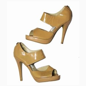 Jimmy Choo Shoes Tan NEW WITH DEFECTS Size 38